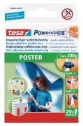 tesa Powerstrips Strips POSTER Packung mit 20 Stück