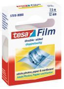 tesa tesafilm doppelseitiges Klebeband transparent 7,5m x 12mm 1 Rolle