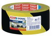 tesapack Markierungs- und Warnklebeband gelb-schwarz PREMIUM 66m x 50mm