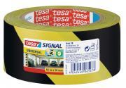 tesapack Markierungs- und Warnklebeband gelb-schwarz UNIVERSAL 66m x 50mm