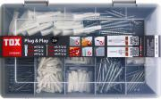 TOX Dübel Sortimentsbox Sortimentskoffer Plug & Play Dübel und Schrauben 320-teilig
