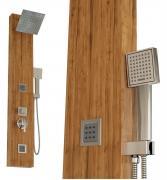 Tronitechnik Duschpaneel ESPOO Aluminium Holzdekor