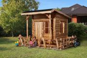 Weka Abenteuerhaus 2 mit Terrasse 298 x 225 cm