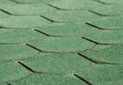 Weka Bitumen-Dachschindeln Biberschwanz grün, 3 m²
