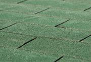 Weka Bitumen-Dachschindeln rechteckig grün, 3 m²