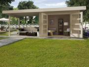Weka Designhaus Gerätehaus 126 Plus B Gr.1 natur 590x240 cm