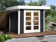 Weka Designhaus Gerätehaus 126 Plus Gr.1 anthrazit 295x210 cm