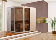 Weka Element-Designsaunen SARA 1 BioS B192 x T192 cm