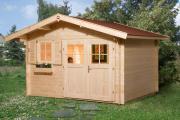 Weka Gartenhaus 109 Gr.2 naturbelassen 340 x 300 cm