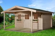 Weka Gartenhaus 110 A Gr.2 naturbelassen VD 200 380 x 580 cm