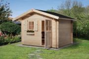 Weka Gartenhaus 131 Gr.1 naturbelassen V60 250 x 250 cm