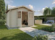 Weka Gartenhaus 132 A Gr.3 naturbelassen 300 x 300 cm