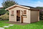 Weka Gartenhaus 135 Gr.2 naturbelassen V60 380 x 380 cm
