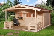 Weka Gartenhaus 136 B Gr.1, VT 380 x 500 cm