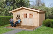 Weka Gartenhaus 136 Gr.2 naturbelassen V60 380 x 380 cm