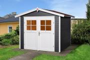 Weka Gartenhaus 224 Gr.2, anthrazit 235 x 209 cm