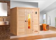 Weka Sauna BERGEN HT Gr. 1 B198 x T148 x H203 cm