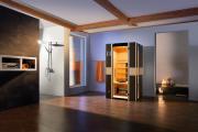 Weka Sauna Infrarotkabine Mila Gr.1 mit Keramikstrahler, B108 x T100 x H190 cm