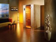 Weka Sauna Infrarotkabine Ranua Gr.1 mit Therm-Flächenstrahler B109 x T98 x H190 cm