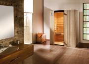 Weka Sauna Infrarotkabine Ranua Gr.2 mit Therm-Flächenstrahler B138 x T98 x H190 cm