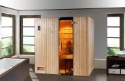 Weka Sauna Infrarotkabine Uppsala Kombi mit Therm-Flächenstr. B212 x T121 x H199 cm