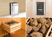 Weka Saunaofen-Profiset OS 11,0 kW für Kabinengrößen 9 bis 16 m³