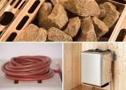 Weka Saunaofenset 8 - 5,4 kW Kompakt mit stufenlose Zeitvorwahl bis max. 6 Stunden, stufenlose Temperaturwahl und Sicherheitsabschaltung