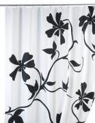 Wenko Anti-Schimmel Duschvorhang Badewannenvorhang Polyester 180 x 200 cm Jasmin