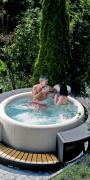 Whirlpool Softub Resort - Durchmesser 200 cm mit LED und Massage