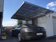 Ximax Design-Carport NEO Typ 90 Standard Edelstahl-Look L 4,95 m x B 2,76 m x H 2,74 m