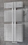 Ximax Design-Heizkörper Bad-Heizkörper Handtuchwärmer K3 117,60 x 60 x 11,2 cm 1031W Stahl weiss RAL9016 + Mittenanschluss