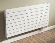 Ximax Design-Heizkörper Raum-Heizkörper P1 Duplex horizontal 59,5 x 100 x 7,4 cm 1256W Stahl weiss RAL9016
