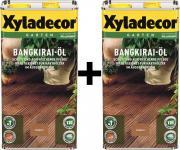 Xyladecor Bangkiraiöl 2 x 5 l Bangkirai-Öl 10 Liter