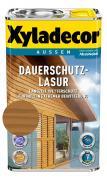 Xyladecor Dauerschutzlasur Wetterschutz-Farbe Eiche 2,5 L
