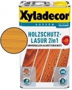 Xyladecor Holzschutzlasur 2in1 Eiche-Hell 5 L
