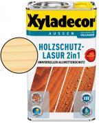 Xyladecor Holzschutzlasur 2in1 Farblos 2,5 L