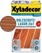 Xyladecor Holzschutzlasur 2in1 Mahagoni 2,5 L