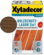 Xyladecor Holzschutzlasur 2in1 Nussbaum 5 L