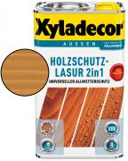 Xyladecor Holzschutzlasur 2in1 Walnuss 5 l