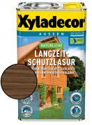 XYLADECOR Natürliche Langzeit-Schutzlasur Nussbaum 2,5 l